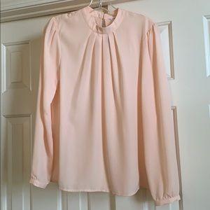 DownEast long sleeve blouse